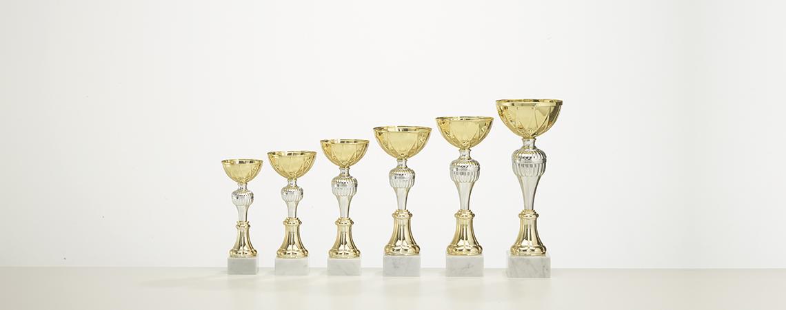 Pokal Dortmund- Gold und Silber