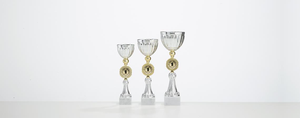 Pokal Elba - Gold und Silber