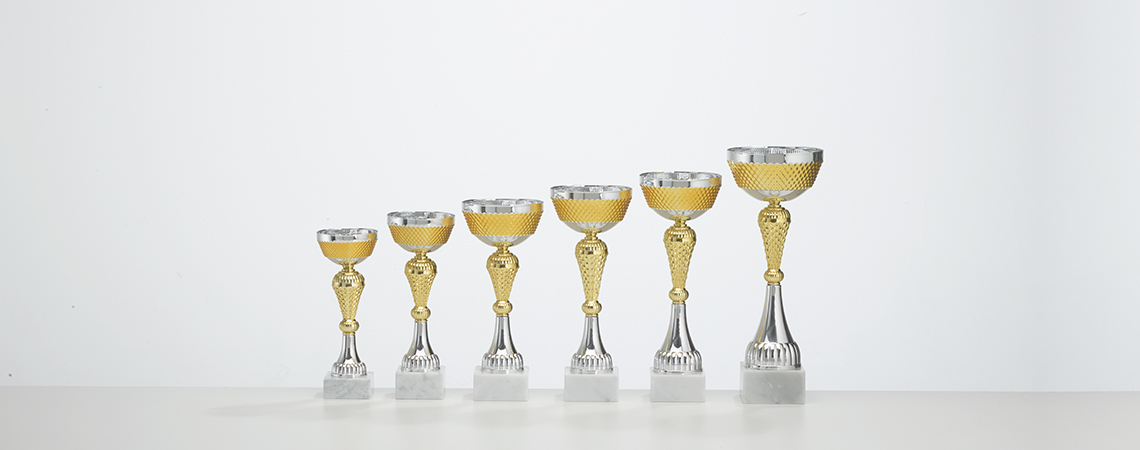 Pokal Peking - Gold und Silber