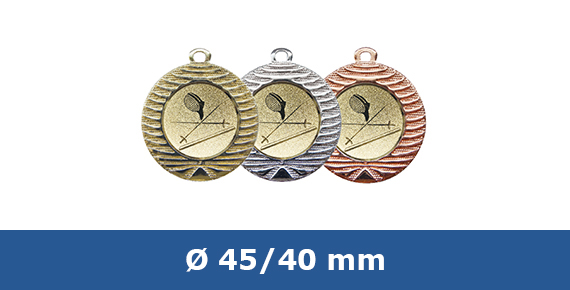Medaillen 40 mm