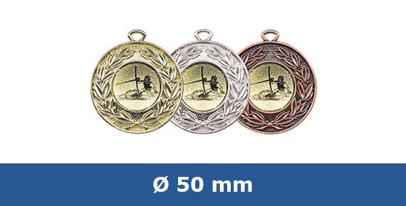 Medaillen 50 mm