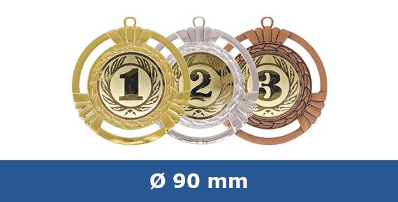 Medaillen 90 mm