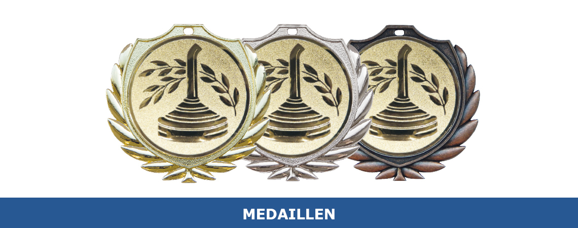 Medaillen Übersicht Produkte