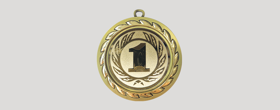 Medaille Alloro